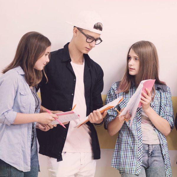 Курсове за тийнейджъри с начални познания по английски език. Усвояват се знания за справяне с ежедневни ситуации.